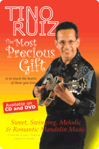 A poster of Tino Ruiz promoting his albums